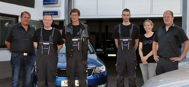 Autohaus Fiethen Teamfoto